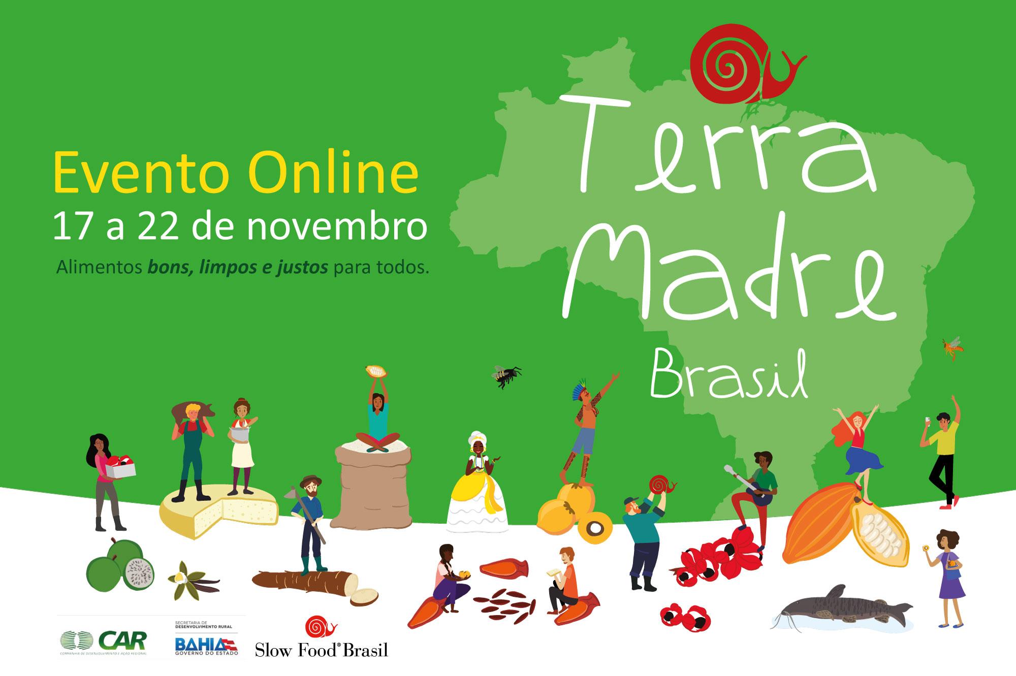 Boletim 2 Slow Food Brasil – Falta só mais um mês para o Terra Madre Brasil 2020
